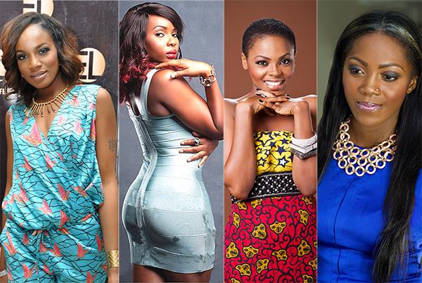 Chidinma, Seyi Shay, Yemi Alade threaten Tiwa Savage's reign as Nigeria's queen of pop