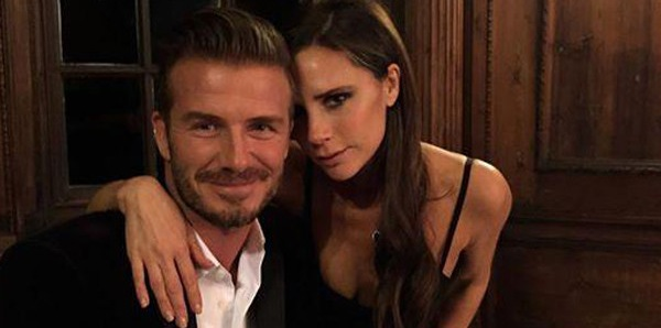 David Beckham and wife one of the first to congratulate royals