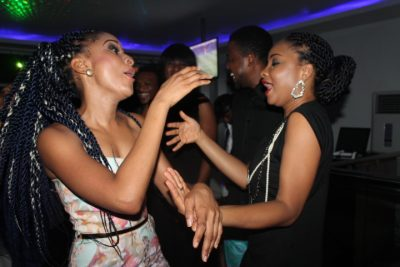 Introducing Nollywood's new besties Linda Ejiofor and Adesua Etomi