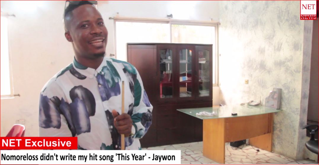 NET Exclusive: Nomoreloss didn't write my hit song 'This Year' - Jaywon