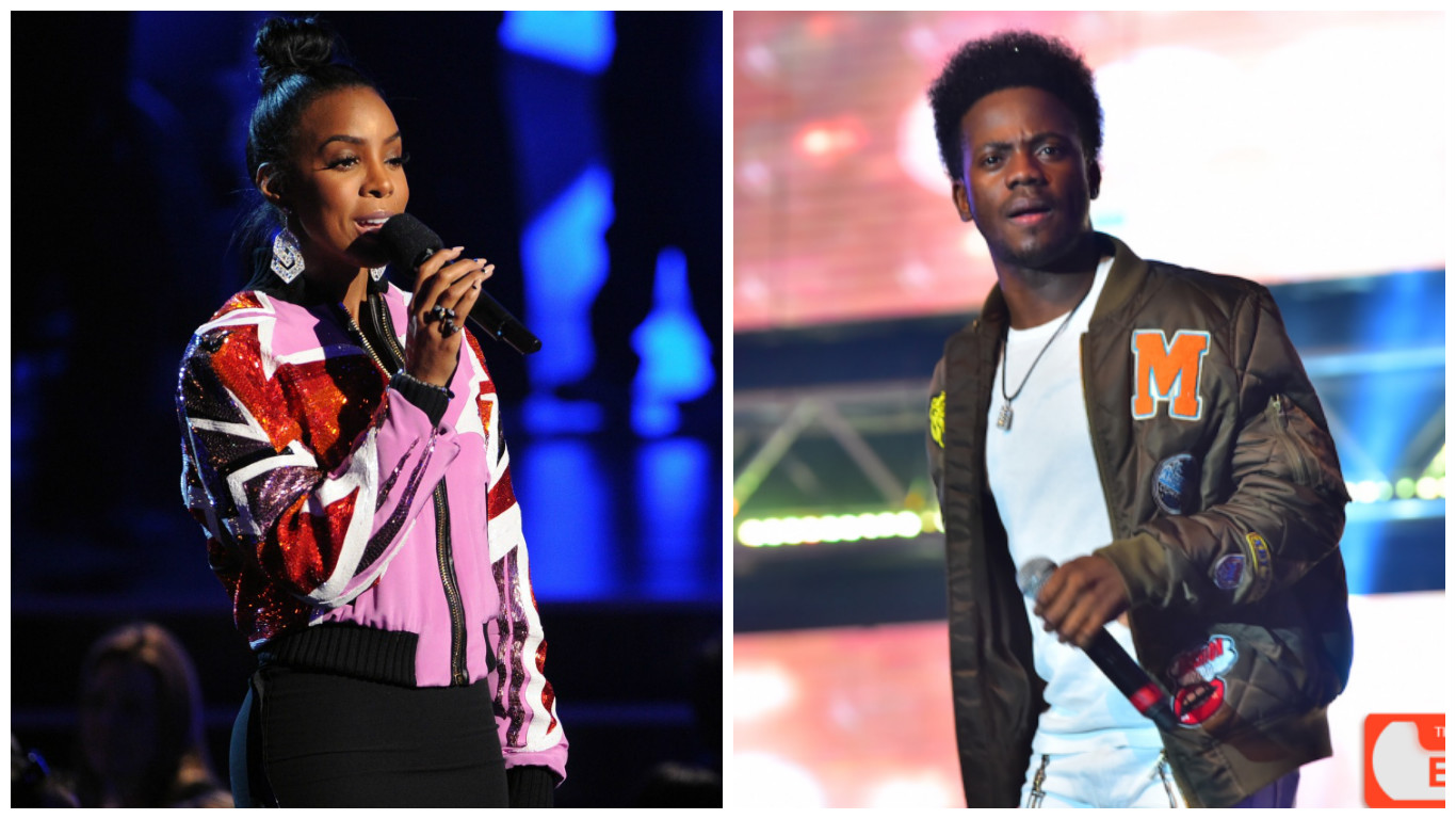 Going Global! Korede Bello collaborates with American singer, Kelly Rowland