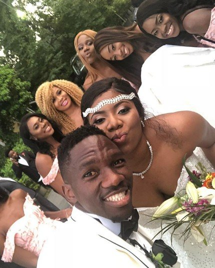 Iyanya And Praiz Storm Turkey For Super Eagles Star, Kenneth Omeruo's Wedding Party