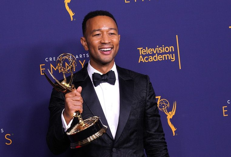 """John Legend Makes History By Becoming The Youngest Person And First Black Man To Win An """"EGOT'"""