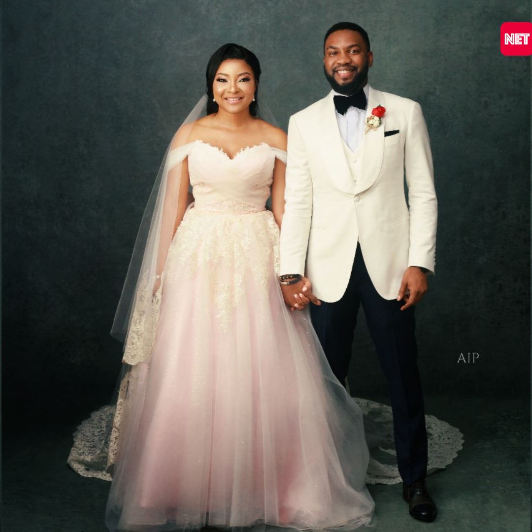 Exclusive: See Official Wedding Pictures Of Latest Nollywood Couple Linda Ejiofor and Ibrahim Suleiman