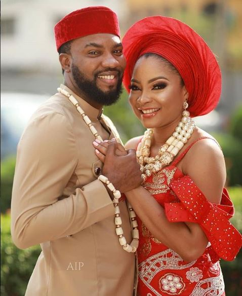 See Photos: Nollywood Actors, Linda Ejiofor And Ibrahim Suleiman Are Officially Married