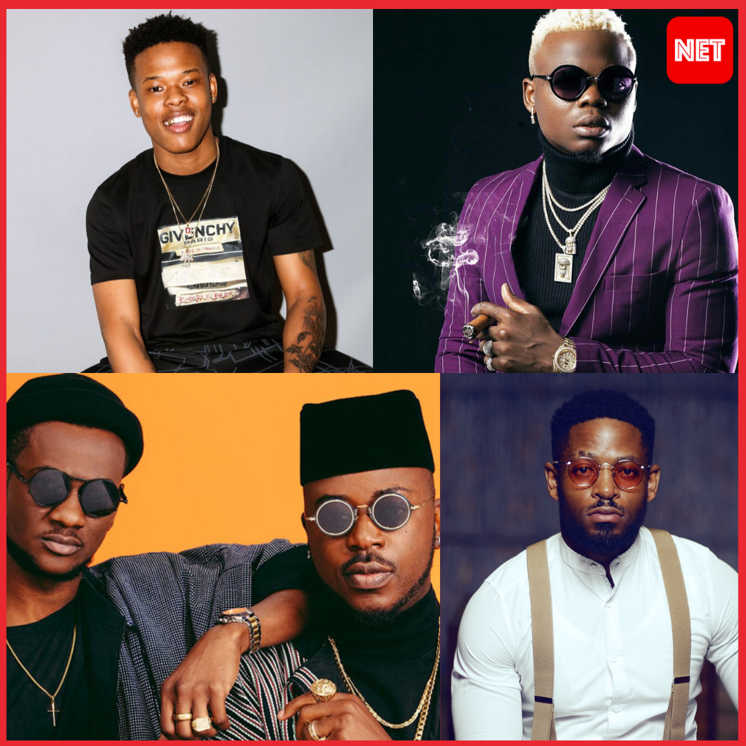 #MTVEMA: The Four Artists Up Against Burna Boy And Teni Entertainer For The Award Of Best African Act