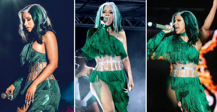 #NETGist: Here are our 5 favourite things Cardi B did in Lagos