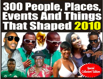 300 People, Places, Events and Things That Shaped 2010 - Full List