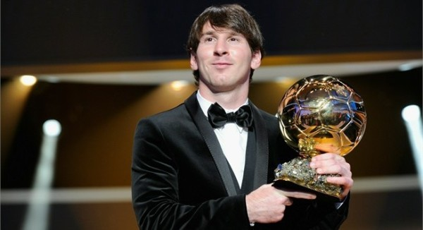 Ballon d'Or 2010: Messi Is World's Best player
