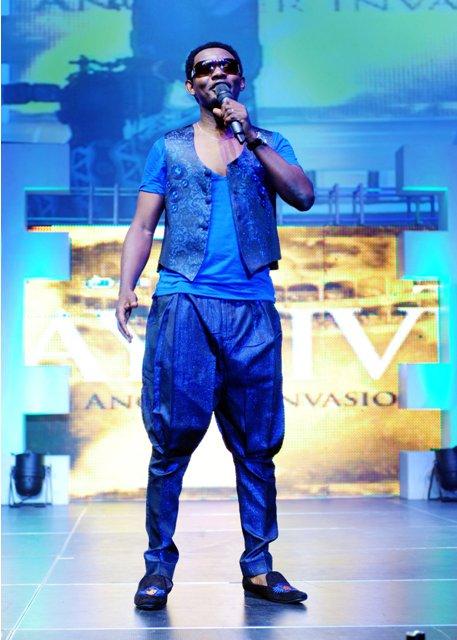 Celebrities Storm Eko Hotel as AY Invades Lagos