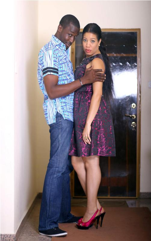 Monalisa Chinda and Joseph Benjamin Kiss And Tell