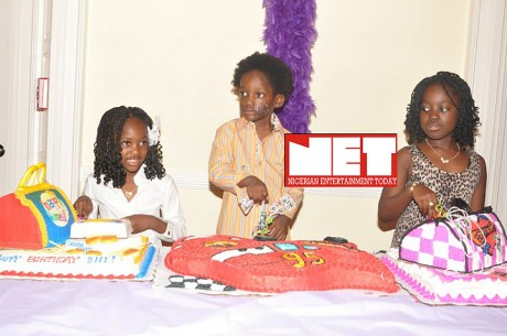 2face Throws Star-Studded Party For His Kids In USA
