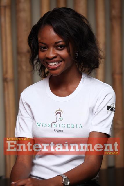 Feyijimi Sodipo Crowned Miss Nigeria 2011