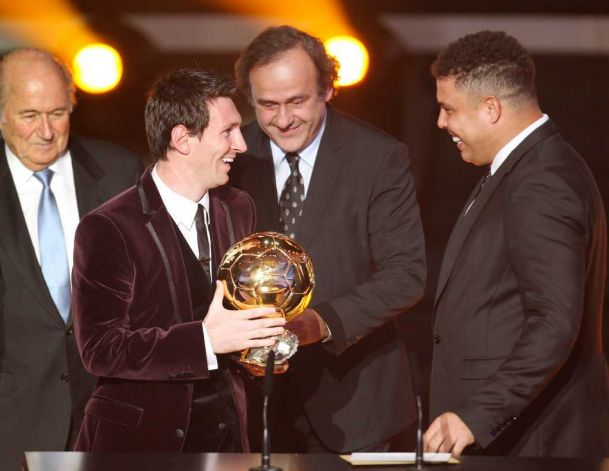 Hat Trick! Messi Wins Ballon d'Or Third Time In A Row