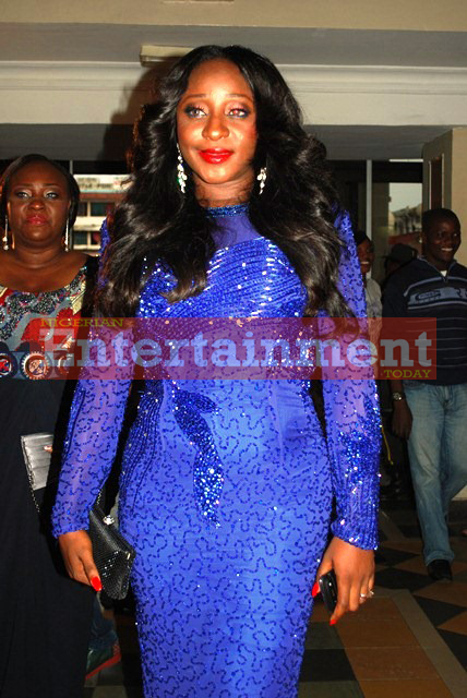 Nollywood Stars Stun At Ini Edo's Movie Premiere