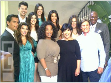 Oprah interviews the Kardashians