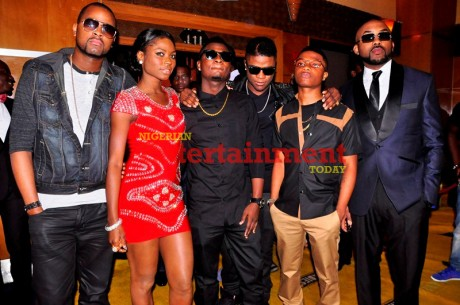 PHOTO: Yellow carpet special from The Headies 2012