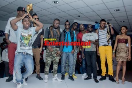 FUN PHOTOS: Davido, Ice Prince, Iyanya, Terry G rock The Headies 2012 nominees party