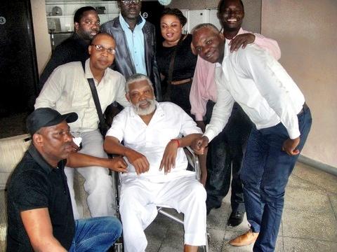 Well wishers visit Enebeli Elebuwa in Indian hospital