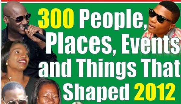 300 People, Places, Events and Things That Shaped 2012