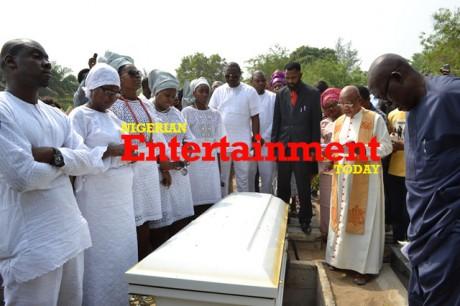 Enebeli Elebuwa finally laid to rest in Lagos