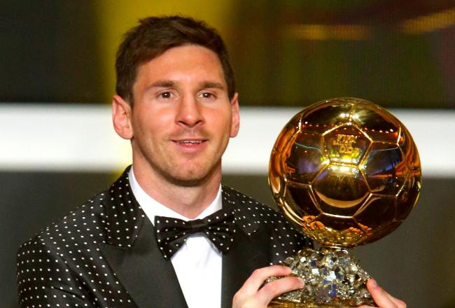 Messi beats Ronaldo to win Ballon d'Or for 4th time