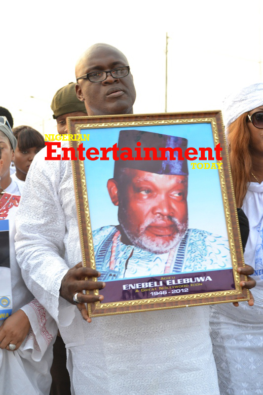 'He was a dad to a lot of us' Nollywood actors sing tribute to Enebeli Elebuwa