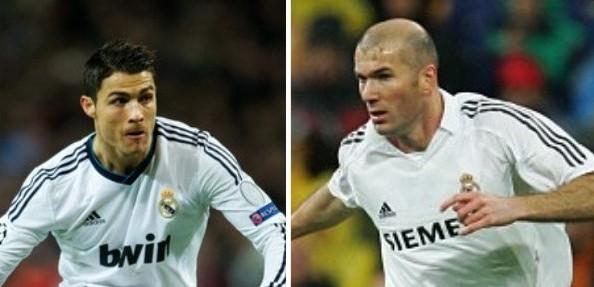 'Zidane is not as good as Ronaldo' - Alex Ferguson
