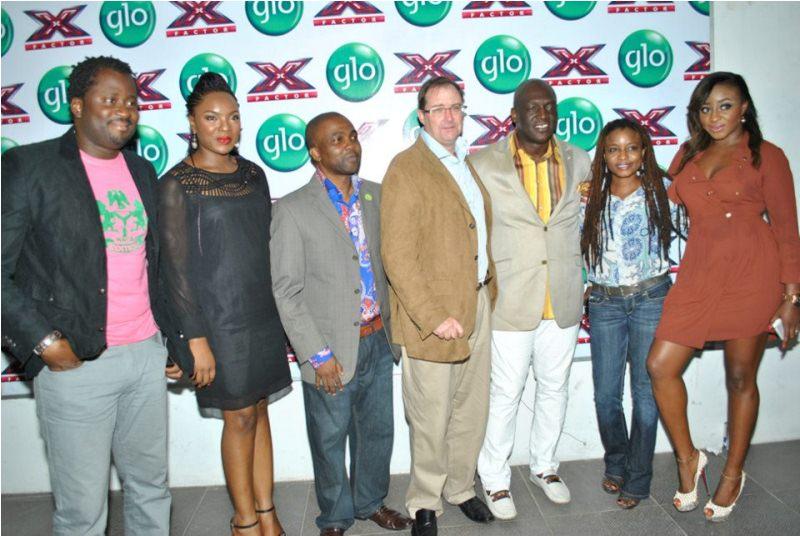 PHOTOS: GLO Launches X-Factor Nigeria