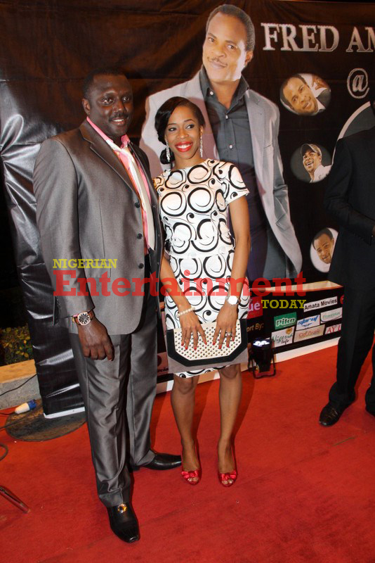 Spotted: Femi Brainard and 'Top Radio' wife Uche