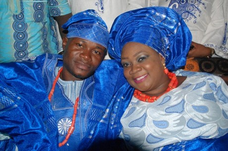 Lagos State First Lady attends comedienne Princess' wedding