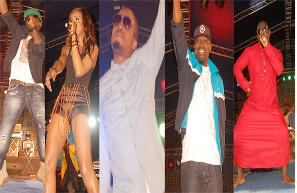 PHOTOS: 2face Idibia, Timaya, Mr. Raw, Naeto C and Sheyi Shay Party All Night in Asaba!