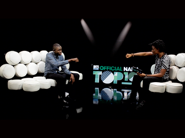 Wande Coal's 'The Kick lands at the top of MTV Base official Naija Top 10 + NET's Osagie Alonge is studio guest!
