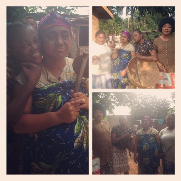 PHOTO: Eucharia Anunobi and Hilda Dokubo join Funke Akindele for new movie