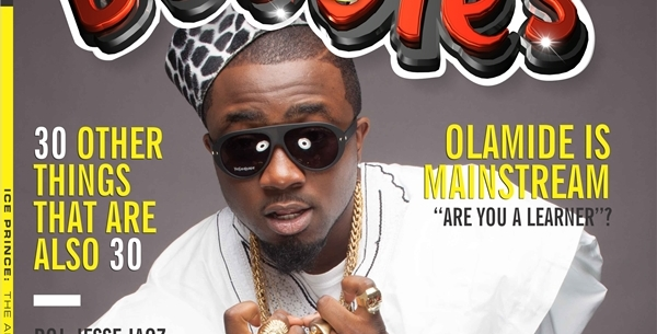 Ice Prince covers Bubbles Magazine's special 30th edition