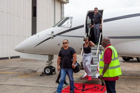 Mary J Blige arrives Lagos for 'Sisters with Soul' concert