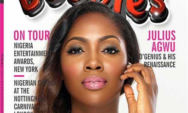Tiwa Savage covers Bubbles Magazine