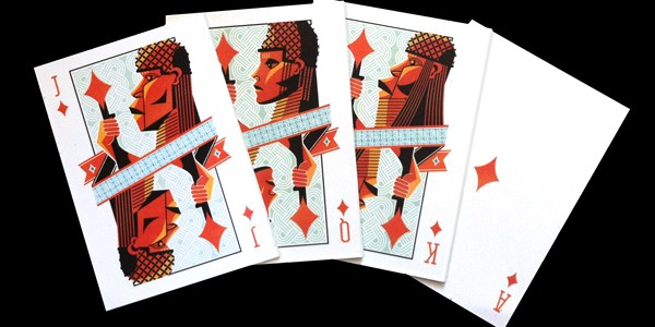 US based Nigerian honours Benin Kingdom with playing cards