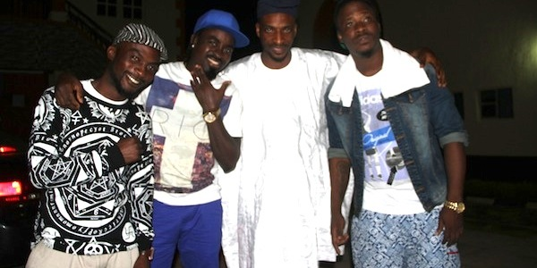 9ice campaigns with Jaywon, LKT, Lord of Ajasa in Ogbomoso
