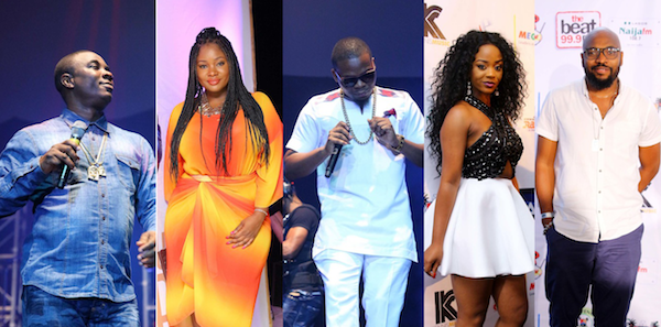 PHOTOS: Ali Baba, 9ice, Olamide, Toolz, Yaw, Kunle Afolayan, others at K1 Live Unusual Concert