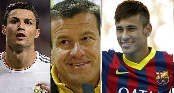 Dunga overlooks Neymar, votes for Ronaldo in Ballon d'Or race