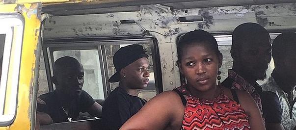 PHOTOS: Wizkid shoots video for 'Ojuelegba'
