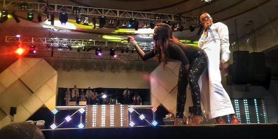 How Tiwa Savage and Patoranking pulled a Miley Cyrus, Robin Thicke stunt on stage