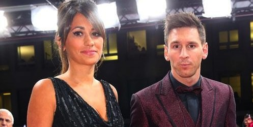 About Lionel Messi's sparkly burgundy suit at Ballon d'Or gala