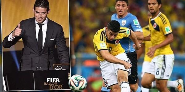 FIFA Ballon d'Or 2014: How James Rodriquez beat Robin van Persie to Best goal award