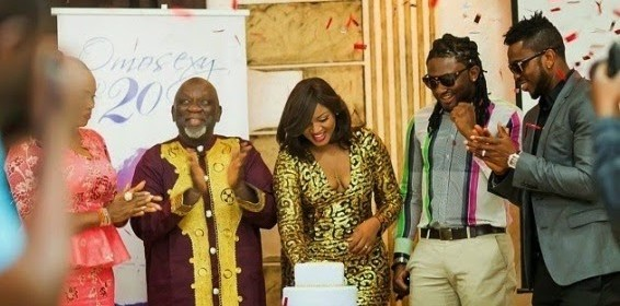 Osita Iheme, Joseph Yobo, others attend 'Omotola at 20' dinner in Abuja