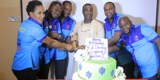 Photos from Fuji legend, K1's 58th private birthday party