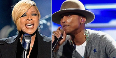 2015 Glastonbury Festival: Pharrell Williams, Mary J Blige among headliners