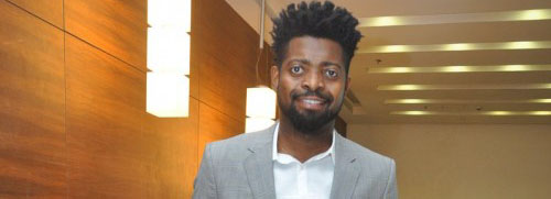 Here's Basketmouth's definition of comedy