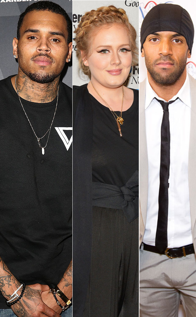 Global Music Stars Chris Brown Adele And Craig David Share Same Birthday